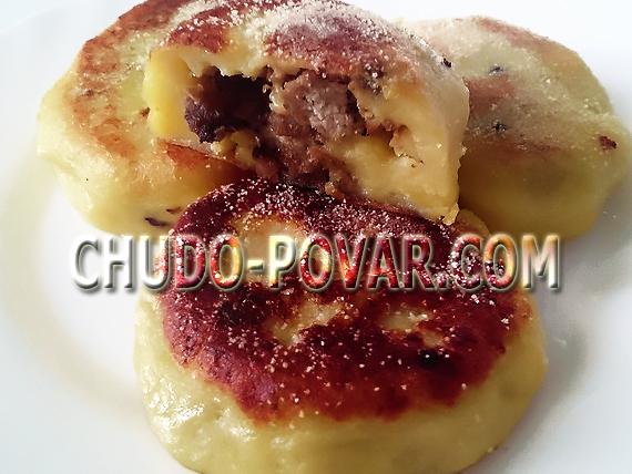зразы картофельные с фаршем рецепт с фото